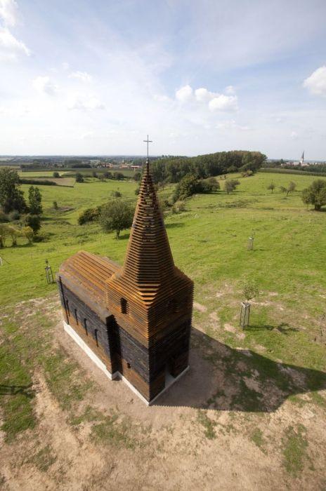 See-through Church (7 pics)