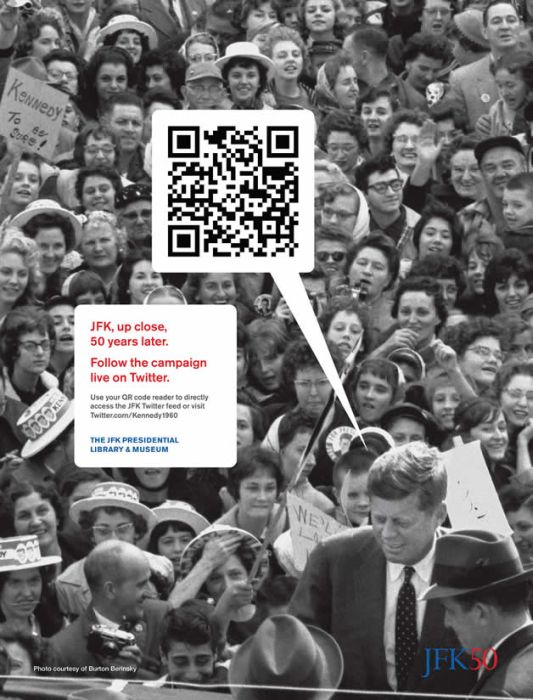 QR Codes in Advertising (20 pics)