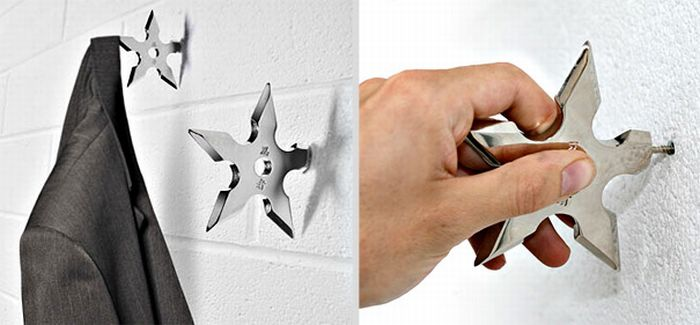 creative wall hook designs. Black Bedroom Furniture Sets. Home Design Ideas
