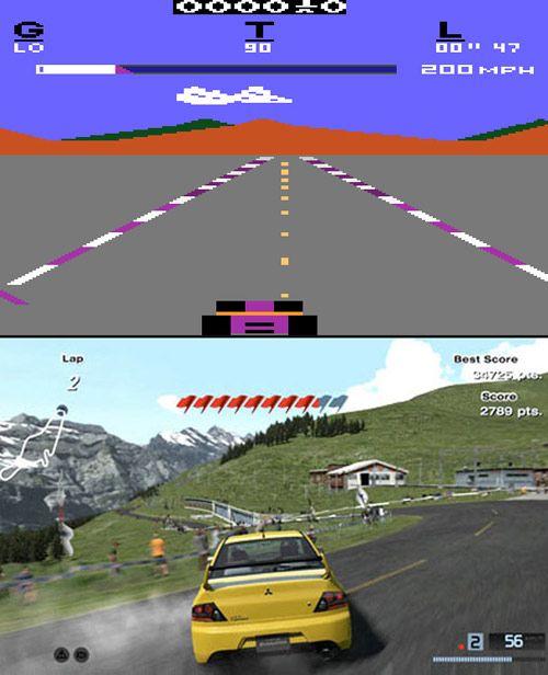 Old Gaming vs. New Gaming (10 pics)