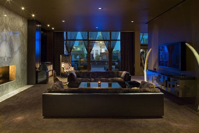 Kravitz Design – The Interior of Lenny Kravitz (10 pics)