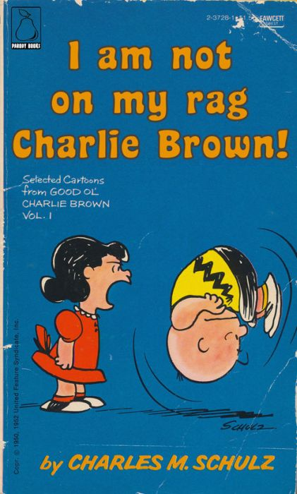 Photoshopped Charlie Brown Covers (19 pics)