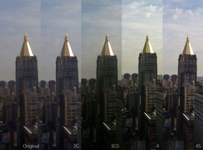 Evolution of the iPhone Camera (12 pics)
