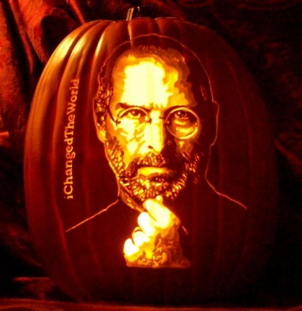 Realistic Pumpkin-Carved Portraits (8 pics)