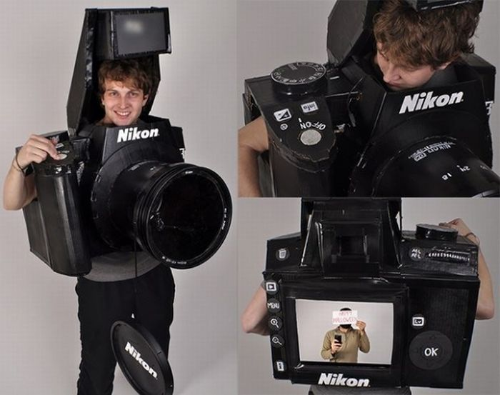Nikon Camera Halloween Costume (17 pics)
