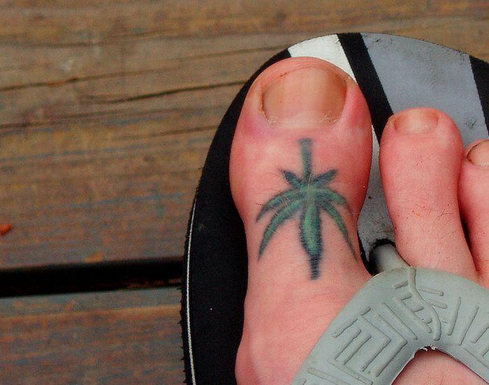Marijuana Tattoos (46 pics)
