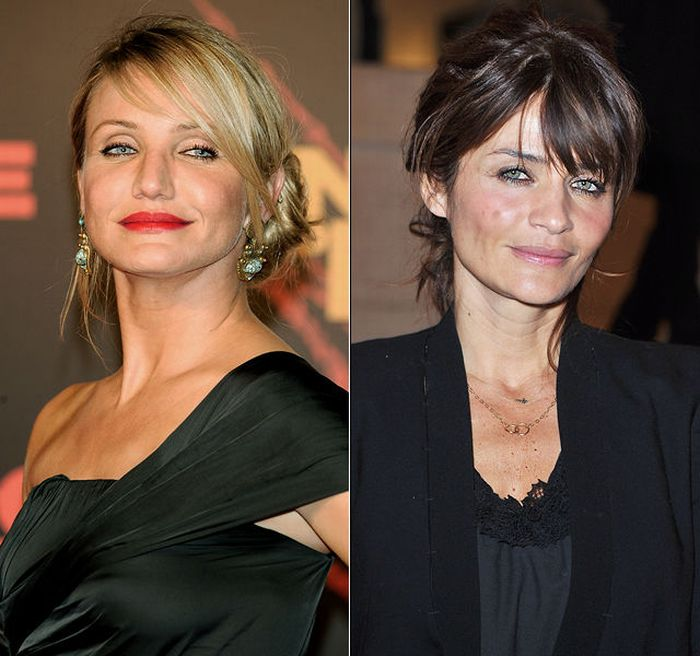 Celebrity twins who are not related  Expresscouk
