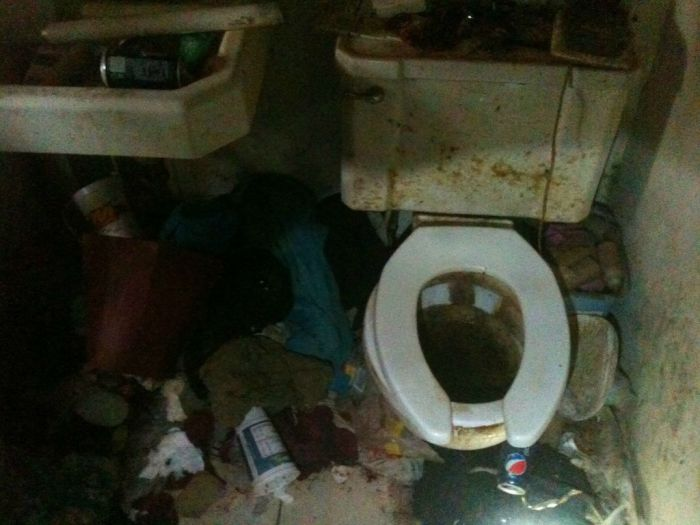 House Full of Garbage (10 pics)