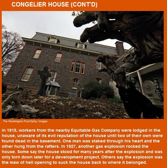 Top 10 Haunted Houses In America (23 pics)