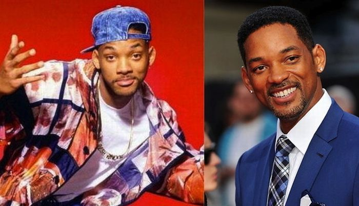 Celebrity Photos From The 90s Vs. Today (20 pics)