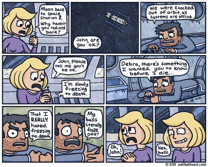 Eat That Toast Comics (55 pics)