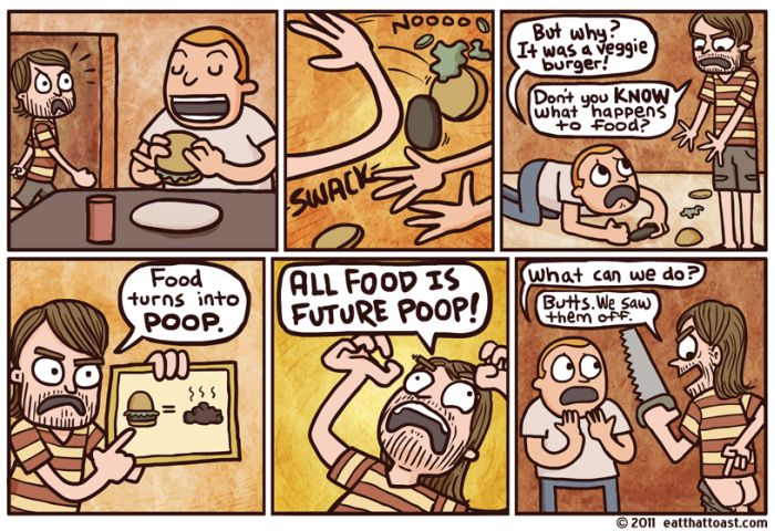 Eat That Toast Comics (55 pics)