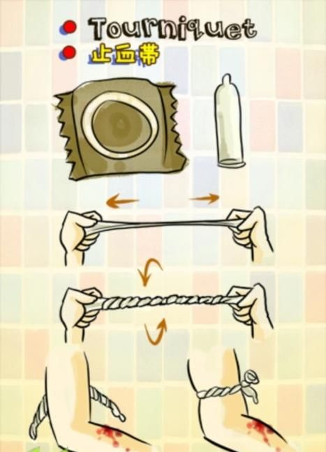 What to Do with a Condom... (5 pics)