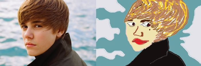 Celebrities Drawn in MS Paint (20 pics)