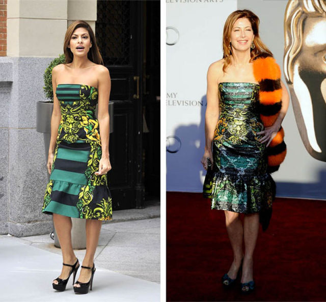 Celebrities Wearing the Same Outfits (78 pics)