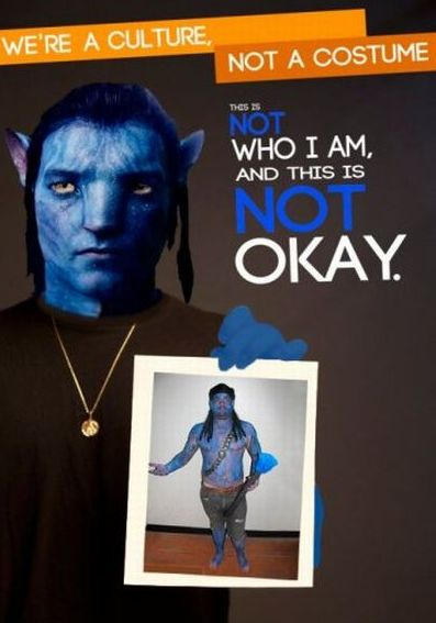 """We're a Culture, Not a Costume"" Parody Posters (45 pics)"