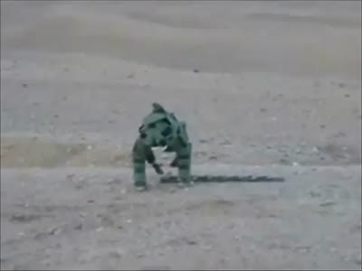Awesome Bomb Disposal Dance