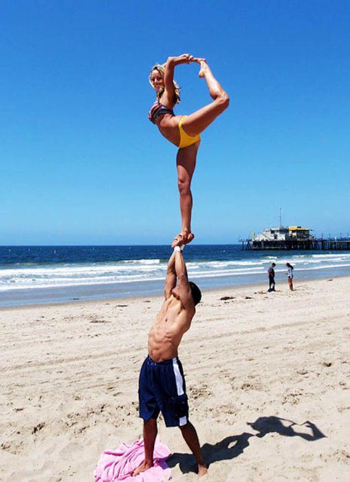 College Cheerleaders on Spring Break (78 pics)