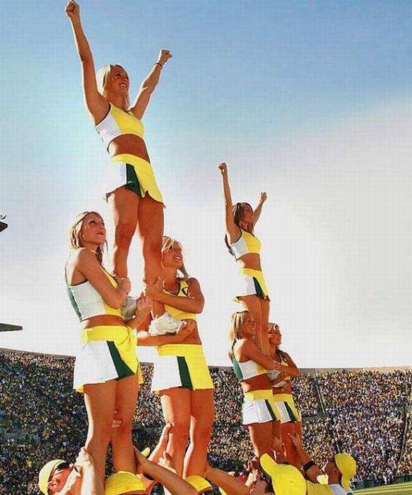Oregon Cheerleaders (62 pics)