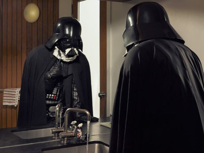 Dark Superhero Grandpa Befriends Darth Vader (20 pics)