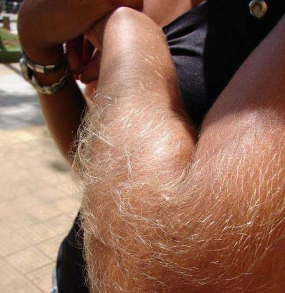 Girls with Hairy Arms (30 pics)