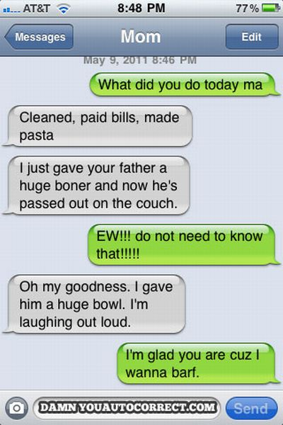 The Most Awkward Misunderstands With Parents (10 pics)