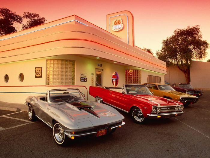 Americans Cars (110 pics)