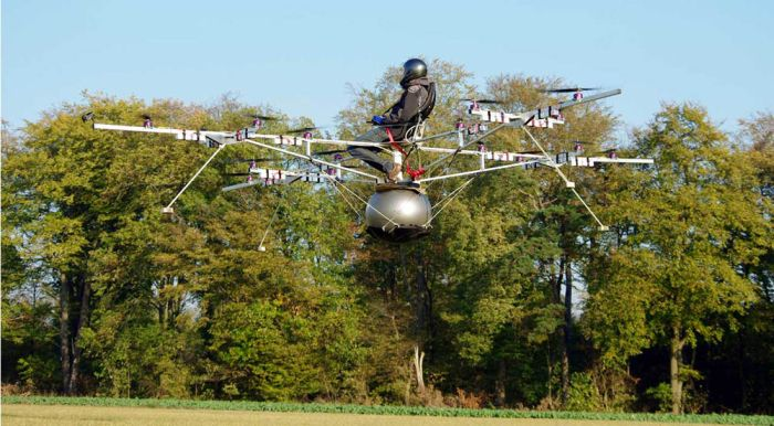 The E-volo – Manned Multicopter (5 pics + video)