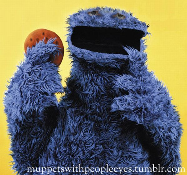 Muppets with People Eyes (11 pics)