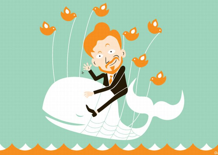 Twitter Fail Whale Illustrations (30 pics)