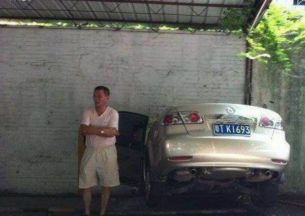 Car vs Wall (6 pics)