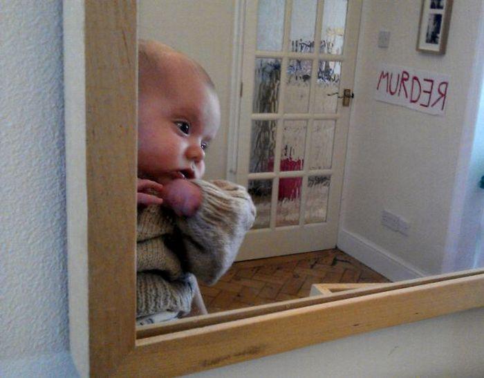 Baby Recreates Classic Movie Scenes (13 pics)