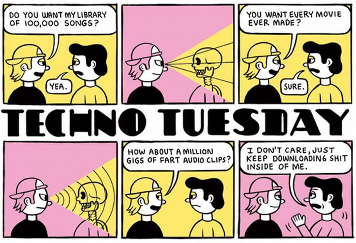Techno Tuesday Comics (15 pics)