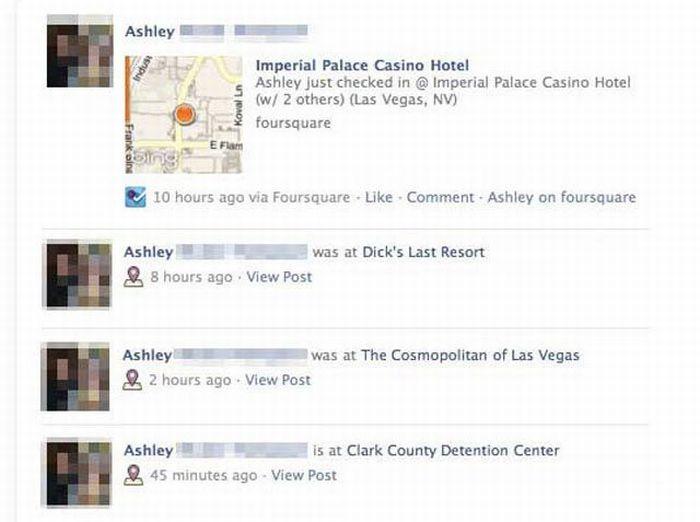 Embarrassing Facebook Status Updates  Pics
