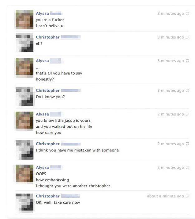 Embarrassing Facebook Status Updates (50 pics)