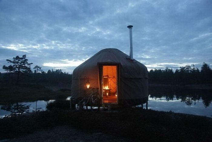 Canvas Hotel in Norway (20 pics)