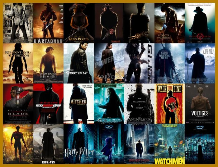 What Movie Posters Have in Common (14 pics)