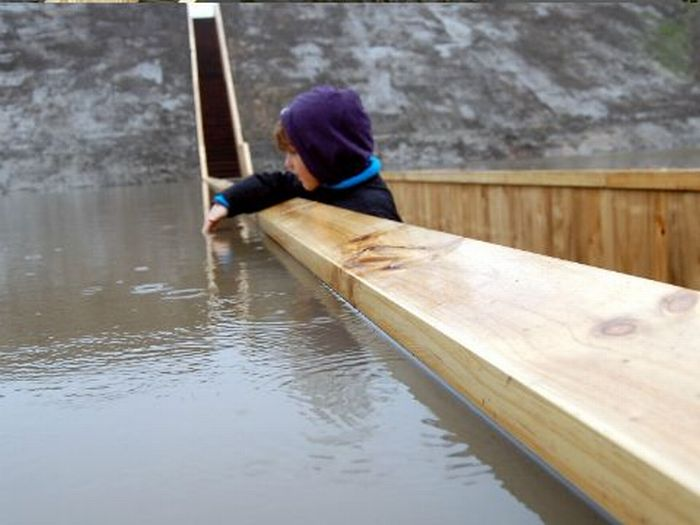Moses Bridge of Fort de Roovere (12 pics + video)