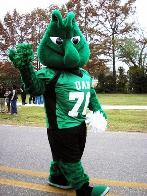 The Most Unusual College Mascots (20 pics)