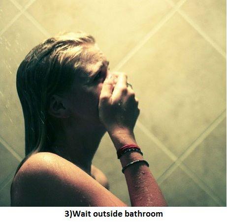 Shower Prank (3 pics)