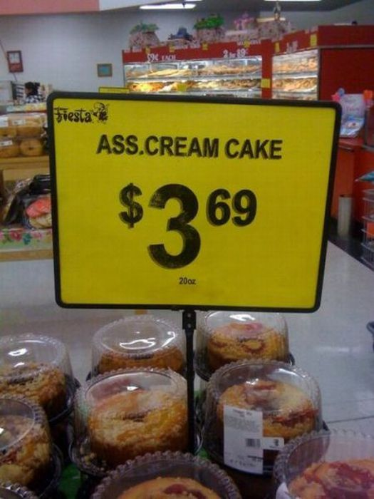 Funny Sign Fails (26 pics)