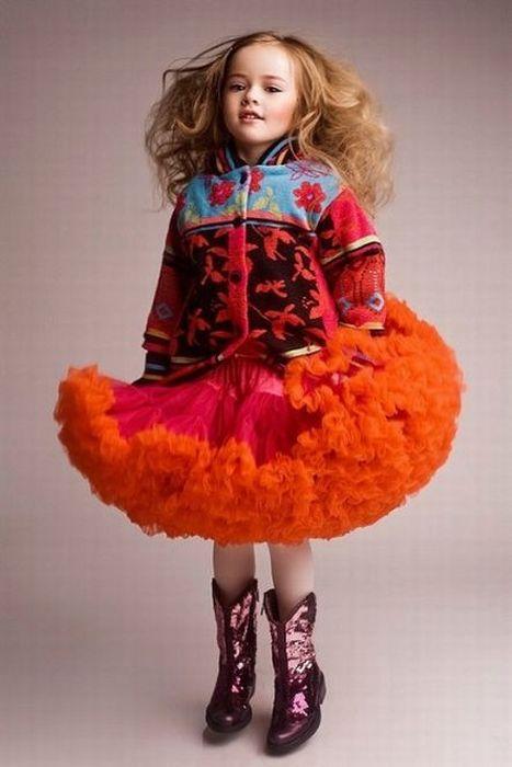 4-Year-Old Model Kristina Pimenova (28 pics)