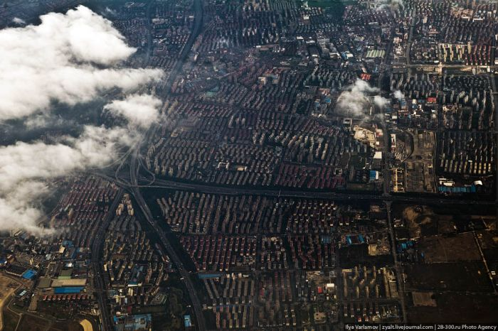 Shanghai From the Bird's Eye View (35 pics)