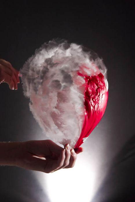 Water Balloon Bursting Photos (38 pics)