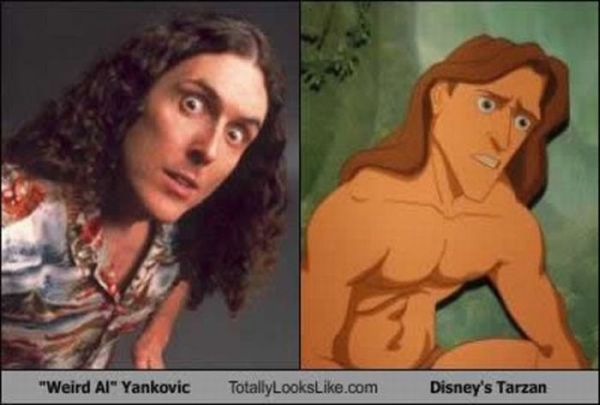 Famous People and Their Cartoon Lookalikes (15 pics)