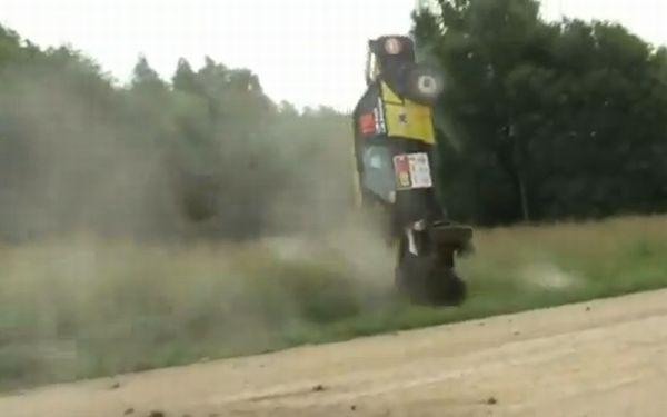 Rally Car Crash Compilation 2011 (video)