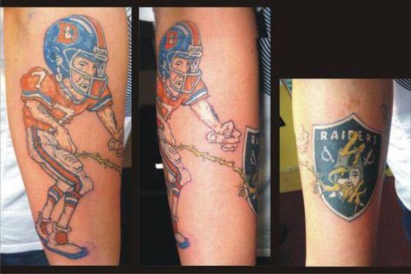 Sport Tattoos (23 pics)