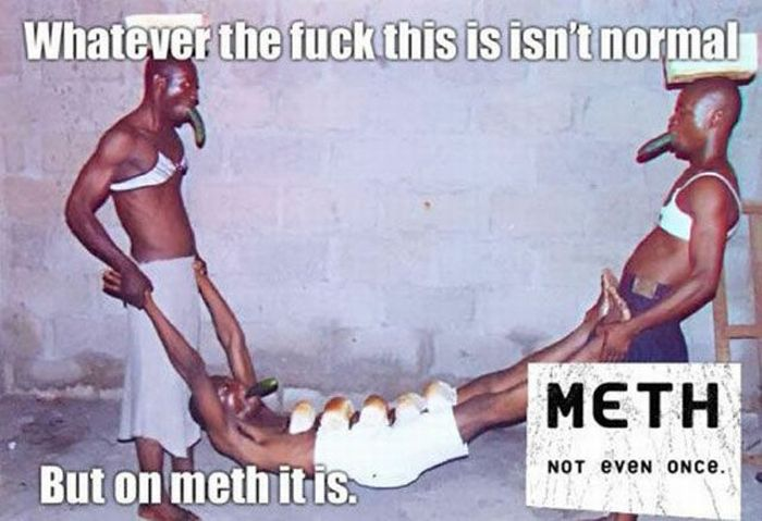 """It Is Not Normal"" Meth Memes (35 pics)"