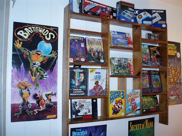 Vintage Game Room (18 pics)