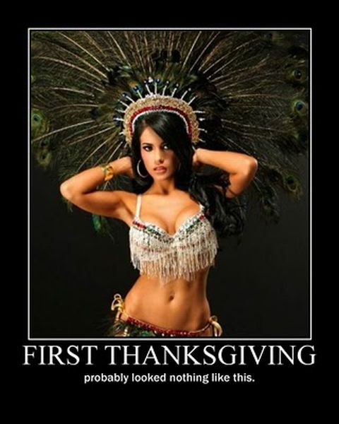 Thanksgiving Day Demotivational Posters (22 pics)